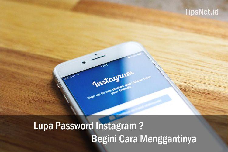 cara ganti password instagram