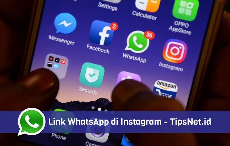 cara membuat link whatsapp di bio instagram